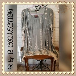 R&B Collection Tunic Dress/ Top